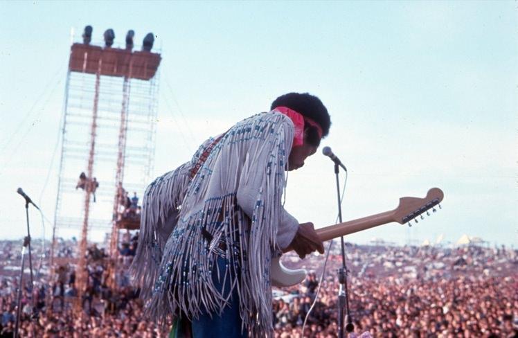 festival Woodstock Jimy Hendix
